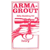 Arma-Grout Ivory Rifle Bedding Kit