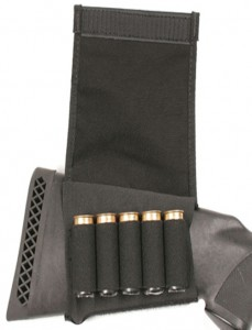 Blackawk Buttstock Shotgun Shell Holder with Flap