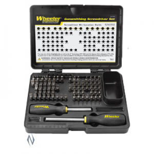 Wheeler 89pc Deluxe Gunsmithing Screwdriver Set